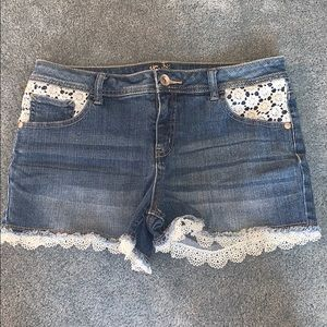 Girl's Justice shorts
